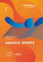 Technical manuals : Barranquilla 2018 : XXIII Central American and the Caribbean Games 2018 / Technical Direction of the XXIII Central American and Caribbean Games Barranquilla 2018 | Central American and Caribbean Games. Technical Direction . 23, Barranquilla, 2018