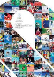 Sport administration manual / Olympic Solidarity   International Olympic Committee. Olympic Solidarity