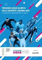 Percorso Giochi Olimpici della Gioventù Losanna 2020 : 6 postazioni rappresentano 6 sport / ideato da Magali Bovas | Bovas, Magali