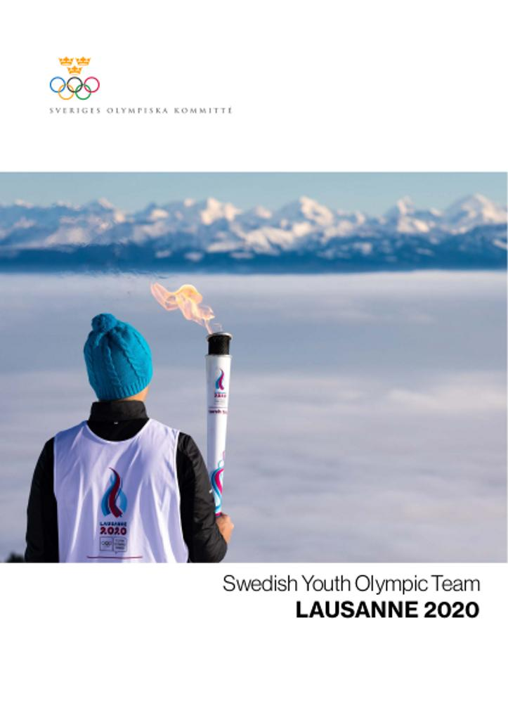 Swedish Youth Olympic team : Lausanne 2020 / Sveriges Olympiska Kommitté | Sveriges Olympiska Kommitté