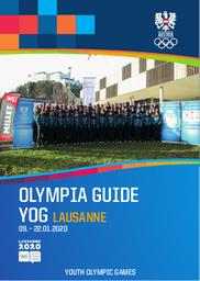 Olympia guide YOG Lausanne 09.-22.01.2020 : Austria : Youth Olympic Games / Österreichisches Olympisches Comité | Österreichisches Olympisches Comité