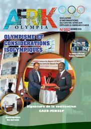 Afrik Olympia : magazine d'informations du Centre Africain d'Etudes Olympiques (CAEO) | Centre Africain d'Etudes Olympiques
