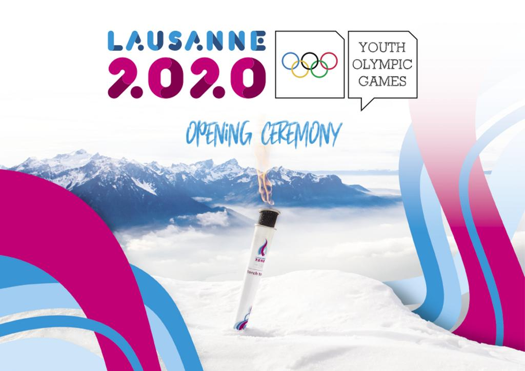 Opening ceremony : Lausanne 2020 Winter Youth Olympic Games / Lausanne 2020 Winter Youth Olympic Games Organising Committee | Winter Youth Olympic Games. Organizing Committee. 3, Lausanne, 2020