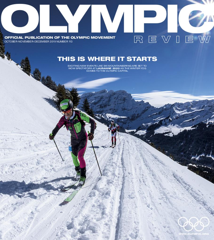 Olympic review : official publication of the Olympic Movement. Vol. 113, October-November-December 2019 |