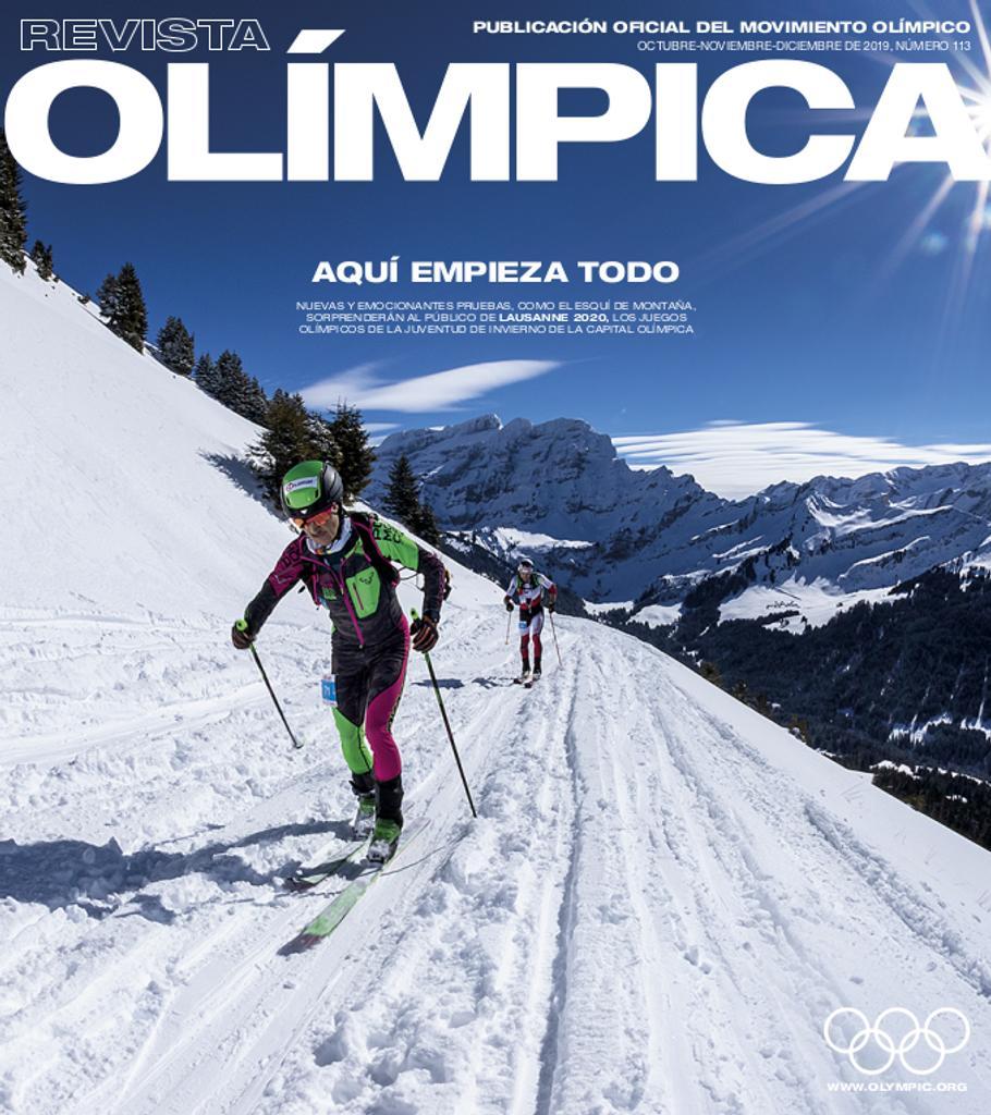 Revista olímpica : órgano oficial del Movimiento olímpico. Vol. 113, Octubre-Noviembre-Diciembre 2019 |