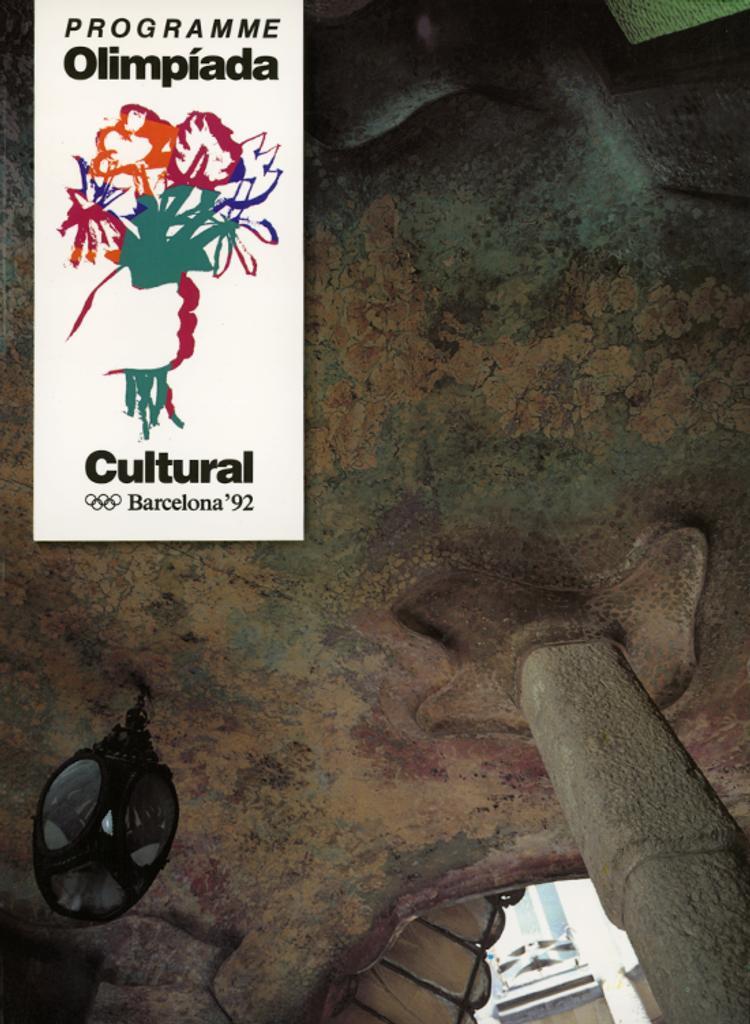 Olimpíada cultural Barcelona'92 : programme |