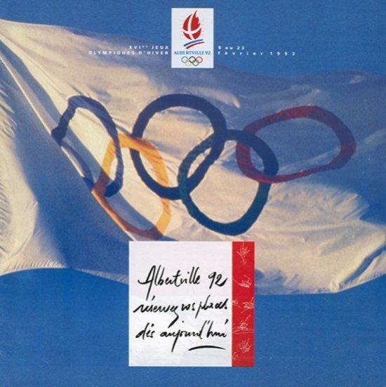 Albertville 92 : réservez vos places dès aujourd'hui : XVIe Jeux Olympiques d'hiver, 8 au 23 février 1992 / Comité d'organisation des XVIe Jeux Olympiques d'hiver d'Albertville et de la Savoie | Jeux olympiques d'hiver. Comité d'organisation. 16, 1992, Albertville