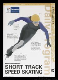 Short track speed skating : the XVIII Olympic Winter Games, Nagano 1998 / NAOC | Olympic Winter Games. Organizing Committee. 18, 1998, Nagano