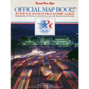 Official map book to the Los Angeles 1984 Olympic Games |