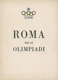 Roma per le Olimpiadi / CONI | Comitato olimpico nazionale italiano
