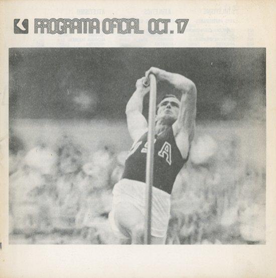 Programa oficial : juegos de la XIX Olimpíada Mexico 68 / [ed.] Comité Organizador de los Juegos de la XIX Olimpiada] | Jeux olympiques d'été. Comité d'organisation. 19, 1968, Mexico