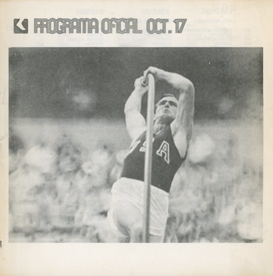 Programa oficial : juegos de la XIX Olimpíada Mexico 68 / [ed.] Comité Organizador de los Juegos de la XIX Olimpiada] | Jeux olympiques d'été. Comité d'organisation. (19, 1968, Mexico)